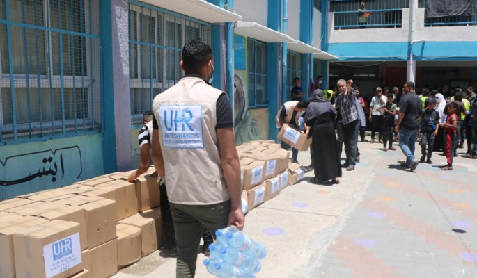 UHR Is Urgently Responding to Gaza's Humanitarian Crisis